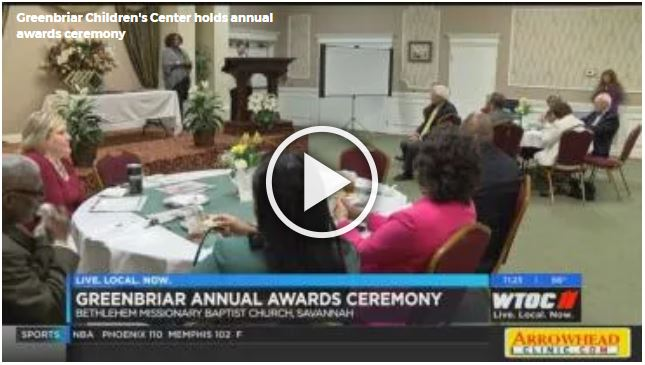 Greenbriar Children's Center holds annual awards ceremony
