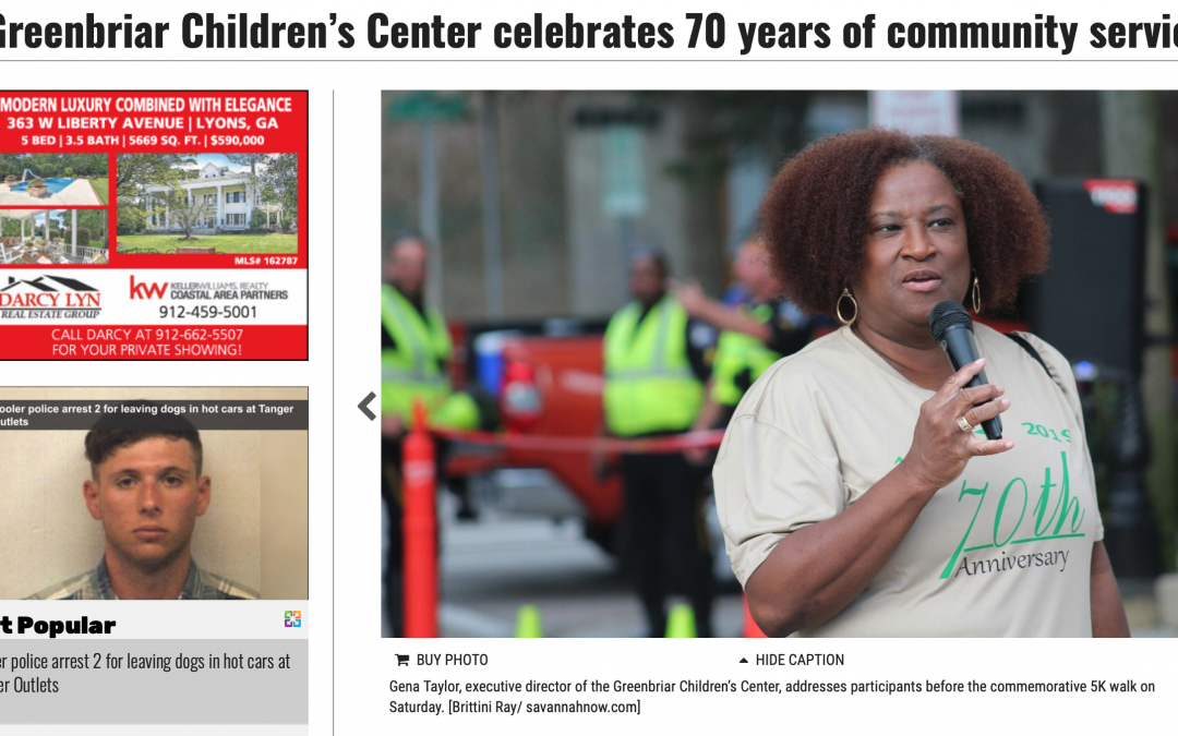 Greenbriar Children's Center celebrates 70 years of community service