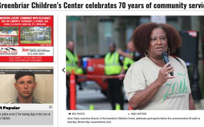 Greenbriar Children's Center celebrates 70 years of community service